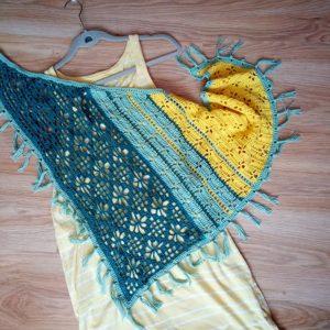 триъгълен шал