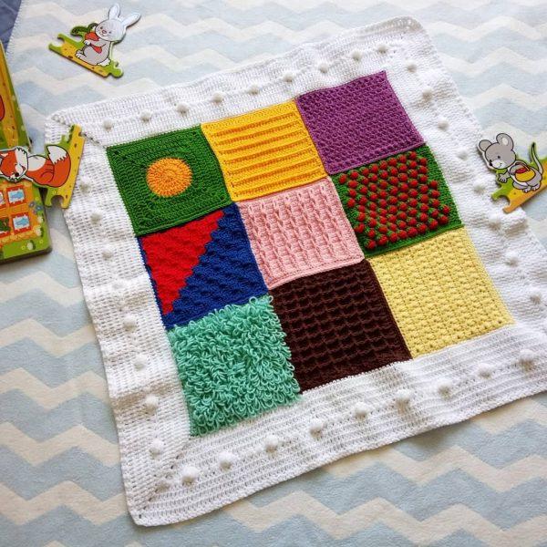 Сензорно одеялце за бебе