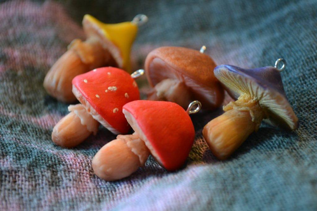 Гъбки от полимерна глина